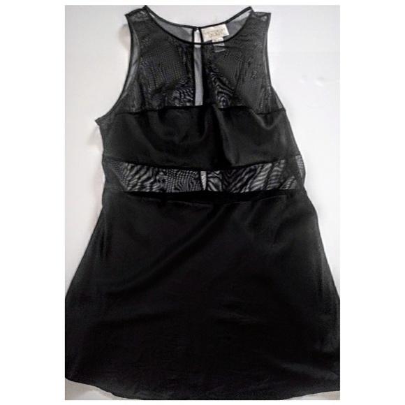 Victoria's Secret Other - Vintage Victoria's Secret Silk & Mesh Slip/Dress